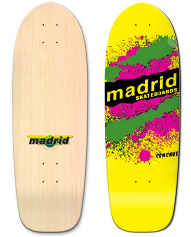Madrid Explosion OG Cruiser Yellow Deck 29.25""