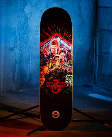 Stranger Things Deck Netflix Title Poster (Limited Edition)