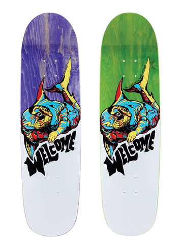 Welcome Otter on Sylphstick Deck 8.5""