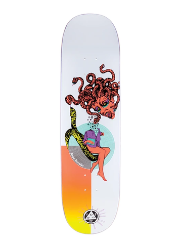 Welcome Ryan Townley Gorgon on Enenra Deck - White/Coral 8.5""