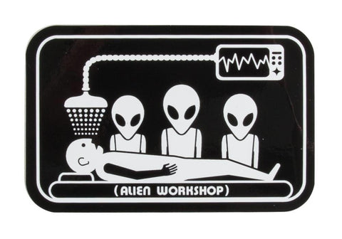Alien Abduction Operation Sticker