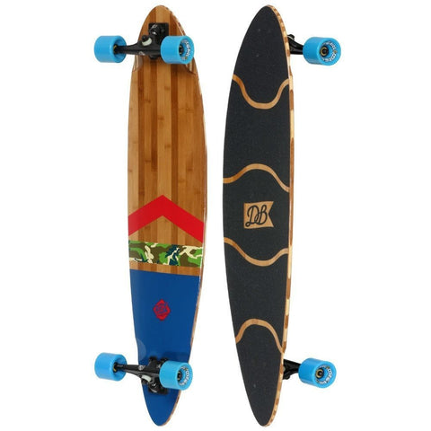 "DB Anthem 42"" Camo Pintail Longboard Complete"