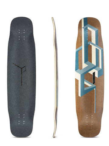 Loaded Basalt Tesseract Deck 39""