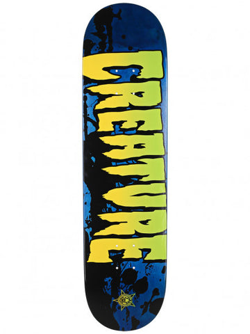 Creature Stained Small Blue Deck 8""