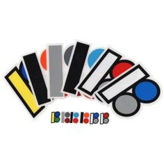 Plan B Multicolor Logo Sticker