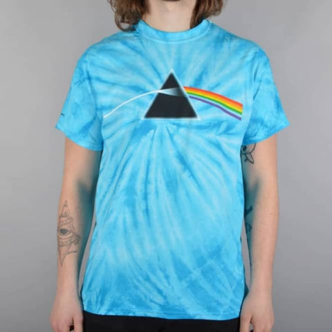 Habitat Pink Floyd Darkside of the Moon Aqua Tie Dye T-Shirt