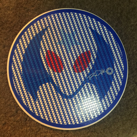 Alien Workshop Rob Dyrdek Circle Sticker 7.6cm