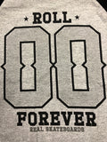 Real Roll Forever Raglan Grey/Black Small