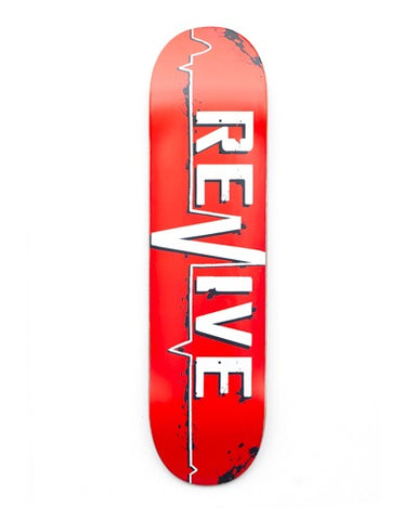 Revive Skateboards Red Lifeline Deck