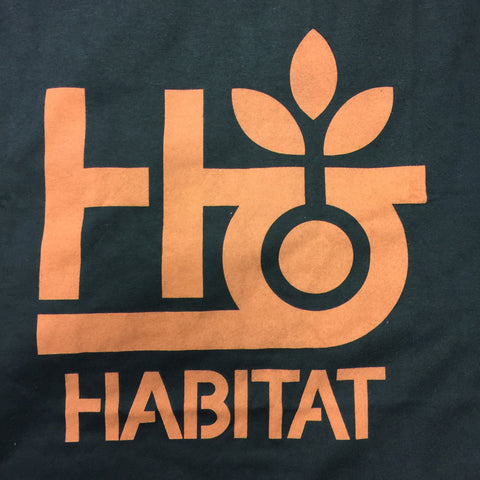 Habitat Pod Logo Orange T-Shirt