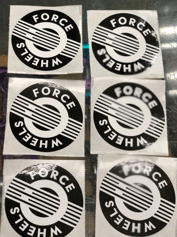 Force Wheels Sticker