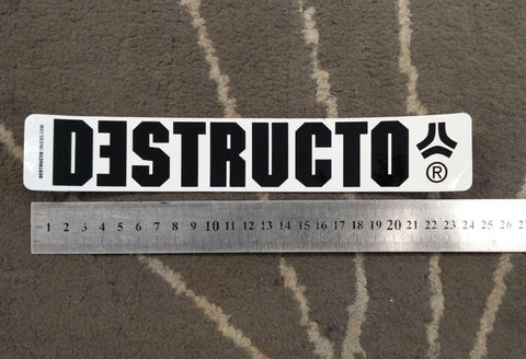 Destructo Sticker 9