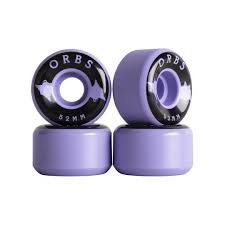 Welcome Orbs Wheels Specters Solid Lavender 52mm 99a