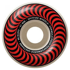 Spitfire Wheels Formula 4 Classic Red 51mm 99d