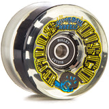 Santa Cruz Slime Balls Wheels Disco Balls 66mm 78a (LED Light Up Wheels)