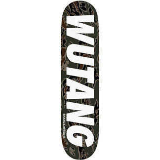 "Wu Tang Camo Logo Deck 8"" (Limited Edition)"