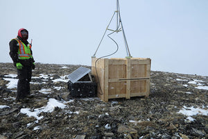Solar Mountain Top Repeater Setup