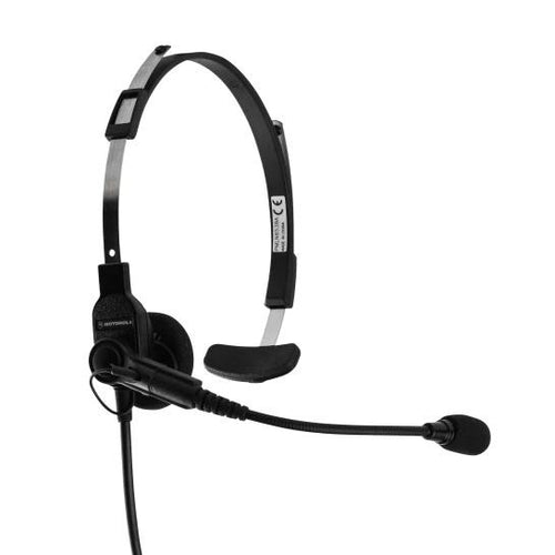 Lightweight radio headset and microphone Motorola rental