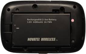 Battery operated portable WiFi for rental Bell