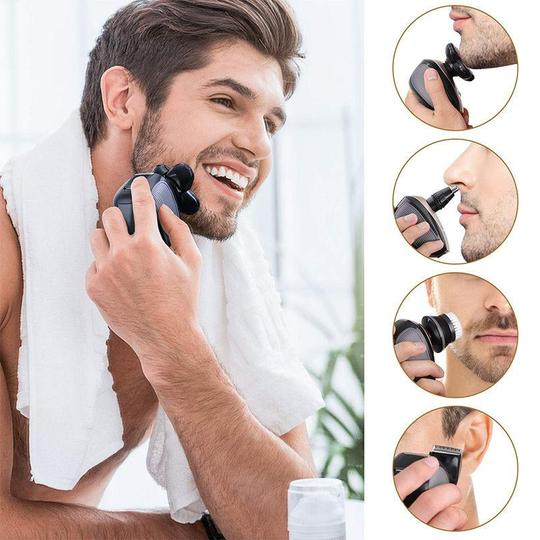 Men's 5-in-1 Electric Shaver & Grooming Kit