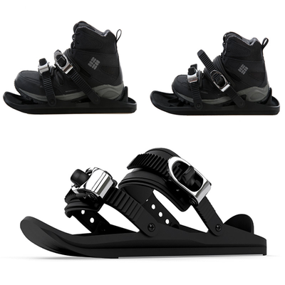 The Mini ski shoes