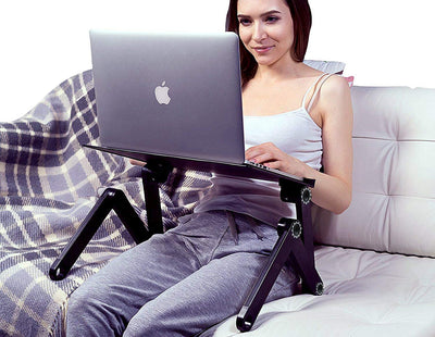 Portable Laptop Stand With Stand Tray - 40% OFF