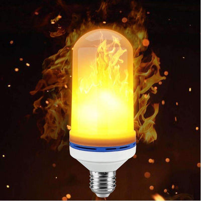 LED Flame Lamp with Fire Effect FuzzOnline