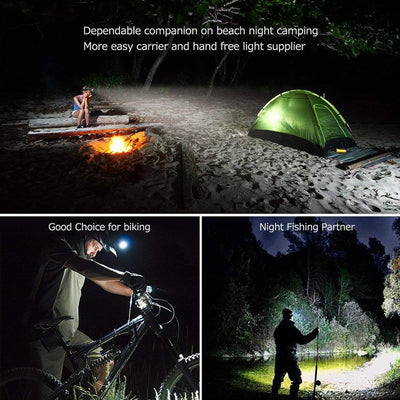Beamro™️ Ultra Bright 5-LED Zoomable Headlamp