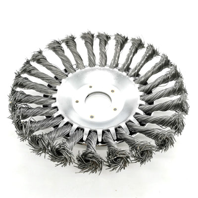Curved Steel Wire Weed Brush