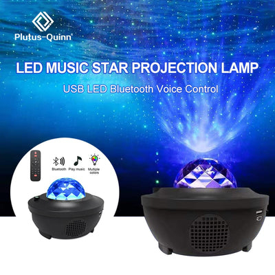 Plutus™ Galaxy LED Projector