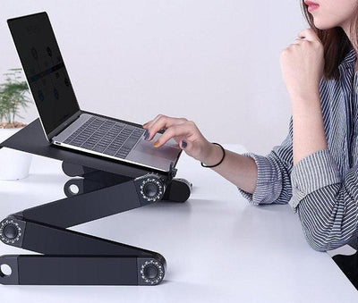 Portable Laptop Stand Table With Stand Tray Fuzz Store