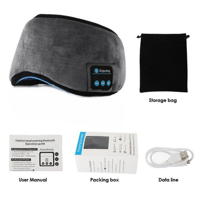 BLUETOOTH SLEEPING EYE MASK HEADSET Fuzz Online