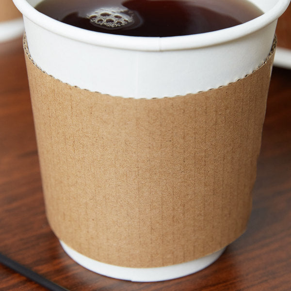 Coffee Sleeves 12-20oz  20/50 - P3, Paper Plastic Products Inc.