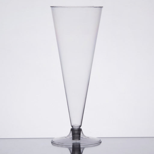 Cup 6 oz. Clear 2-Piece Cone - P3, Paper Plastic Products Inc.