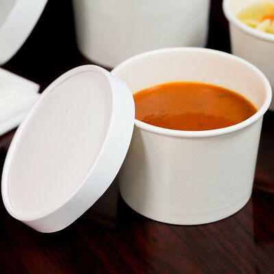 Soup Bowl Paper Lid 12oz 10/25