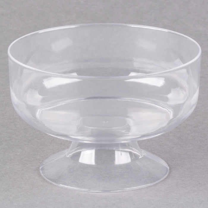 Cup  6 oz. Clear Dessert 1-Piec - P3, Paper Plastic Products Inc.