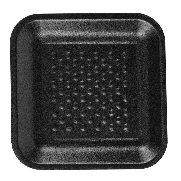 "TRAY 3"" x 3"" Black - P3, Paper Plastic Products Inc."