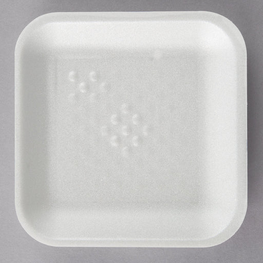 "Tray 2 1/4"" x 2 1/4"" White - P3, Paper Plastic Products Inc."