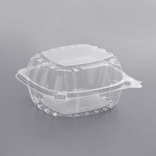 6X6 Clear Tray 4/125 - P3, Paper Plastic Products Inc.