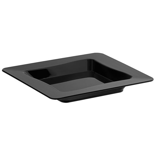 "TRAY  3"" x 3"" Tiny  Black - P3, Paper Plastic Products Inc."