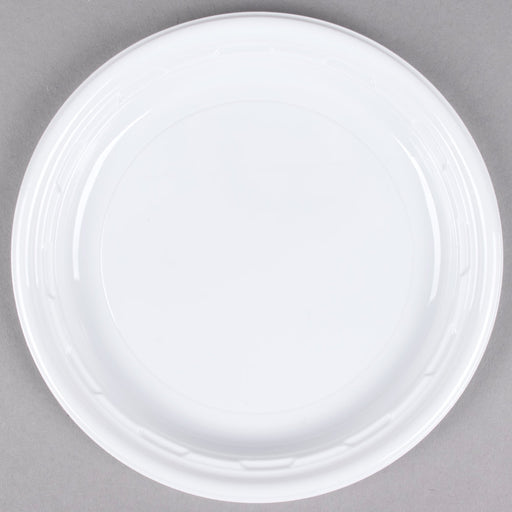"Plastic Plate 6"" 50/10 (RES) - P3, Paper Plastic Products Inc."
