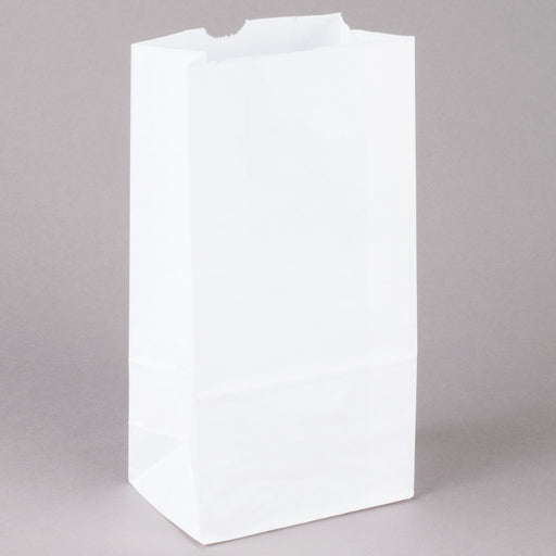6# Paper White Bags 4/500 - P3, Paper Plastic Products Inc.