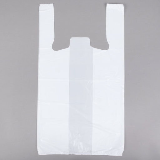 T-Shirt Bag Plain White 40/50 - P3, Paper Plastic Products Inc.