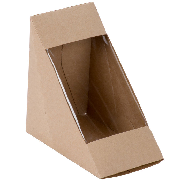 Sandwhich Wedge Box 4/50 - P3, Paper Plastic Products Inc.
