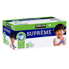 Diaper KS Supreme SZ 5 1/150ct - P3, Paper Plastic Products Inc.
