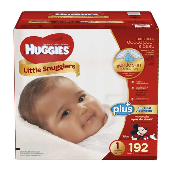 Diaper L. Snugglers SZ1 1/192ct - P3, Paper Plastic Products Inc.
