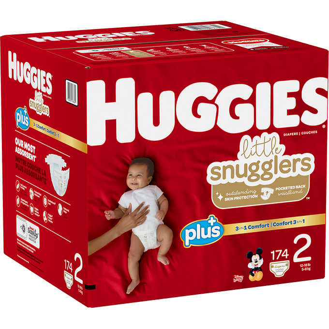 Diaper L. SnugglersSZ 2 1/174ct - P3, Paper Plastic Products Inc.