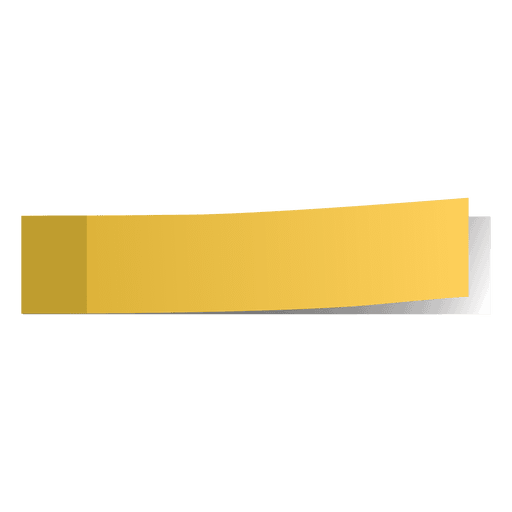Flag Post-IT Yellow 1/1 - P3, Paper Plastic Products Inc.