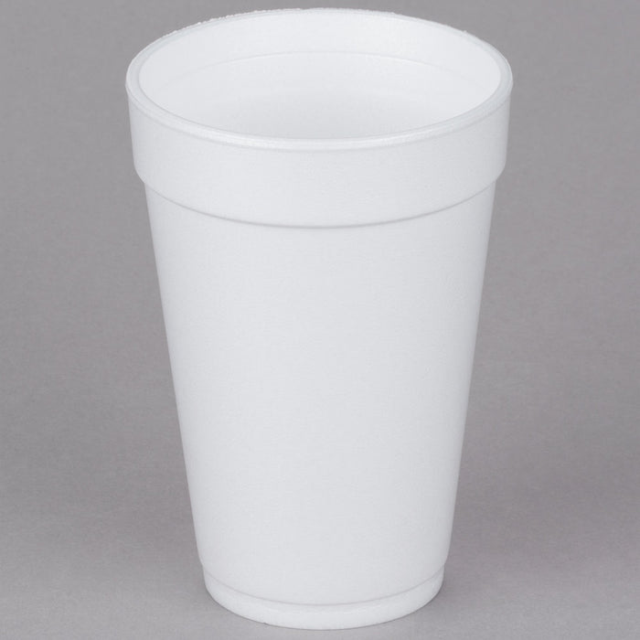Foam Cup 16oz White 20/25 - P3, Paper Plastic Products Inc.