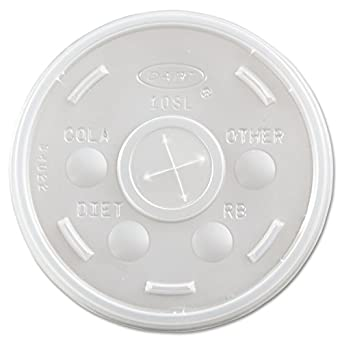 Foam Cup Lid 10oz 10/100 - P3, Paper Plastic Products Inc.
